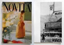 Novità n. 130/1961 Cover T. Kublin Inside Alfa Castaldi Marco Zanuso...
