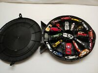 Vintage Hot Wheels/matchbox Lot 25 Cars and 1968 Super Rally Tire Case Die Cast