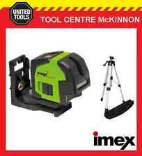 IMEX LX22S CROSSLINE LASER LEVEL SET WITH TRIPOD – 2 YEAR WARRANTY