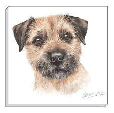 "Evans Lichfield Waggydogz Brown Border Terrier Dog Canvas Picture 40Cm - 16"""