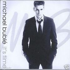 MICHAEL BUBLE IT'S TIME 2005 UK ALBUM SAMPLER PROMO CDR PLASTIC SLIPCASE REPRISE