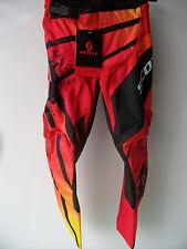"New Kids Youth Red Scott Motocross Pants Sz 22"" Age 3-4 Trousers Honda Mx CR SX"