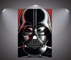 Star Wars Darth Vadar Helmet Vintage Art Deco Comic Poster -A1, A2, A3, A4 sizes