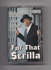 DUBEE a.k.a. SUGAWOLF - For that Scrilla SEALED Cassette rare Rap 1997