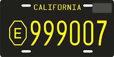 Emergency 51 TV show 1972 California replica License plate