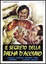 CINEMA-manifesto IL SEGRETO DELLA PALMA D'ACCIAO cheng kun, mei fang; MING SHUN