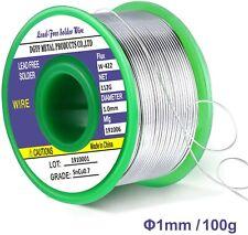 Qualité Étain à Souder Régulier 1,5mm 250g au Choix din Sn99Cu1 Fil de Soudure