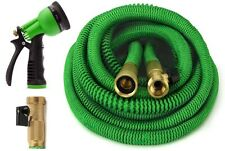 Garden Hose, 50 Feet Strongest Expandable Hose, with All Brass. By GrowGreen®