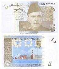 Pakistan 5 Rupees 2008 P-53a Banknotes UNC