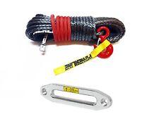 12mm X 28 M. Cuerda SINTETICA CABRESTANTE Dyneema SK75 ** 14000 kg + Aluminio escobén