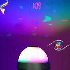 Star Master Proiettore Orario Luce LED notturna Lampada Orologio Sveglia