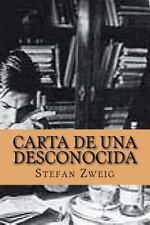 Carta de una Desconocida by Stefan Zweig (2015, Paperback)