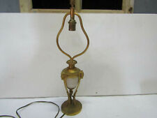 ancienne lampe en bronze style empire tete de belier