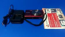 Sony Cyber-shot DSC-W690 16.1MP Digital Camera Burgundy Tested