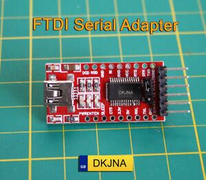 FTDI Serial Adapter FT232RL FT232 TTL 5V 3.3V USB UART Programmer for ESP8266