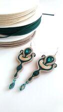 Soutache Earrings Handmade Amazing Original Gift Retro Vintage Elegant