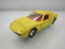 Diecast Matchbox Lesney Lamborghini Miura No. 33 Yellow Good Condition