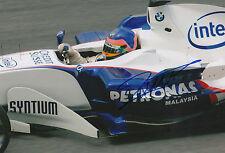 """Jacques Villeneuve """"BMW"""" Autogramm signed 20x30 cm Bild"""