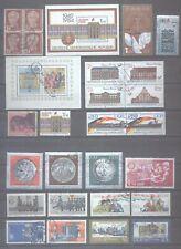 Duitsland  DDR series en zegels ook enkele blokjes      mooi gebruikt