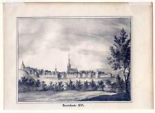 Buxtehude - Lithographie aus Görges 1843