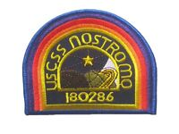 "Alien Aliens U.S.C.S.S. NOSTROMO embroidered badge Patch 7.5x10 cm 3""x4"""