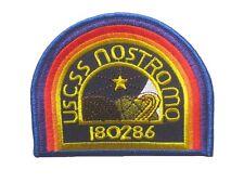 "Alien Aliens U.S.C.S.S. NOSTROMO embroidered badge Patch 7.5x10 cm 3""x4"""
