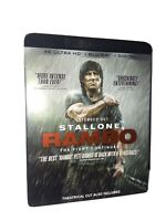 Rambo The Fight Continues 4K UHD + Blu-ray + Digital with Slipcover Brand New