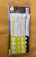 """Illumiglow Glow Sticks / Cyalume Stick 4 Pack 6"""" - 3 x Yellow 1 x High Intensity"""