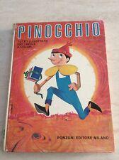 Rarissimo libro Pinocchio anni 60 Ponzoni Milano Illustrazioni Cremonini