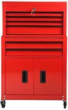 Halfords DIY Storage Store Garage Workshop Chest Cabinet 8 Drawer Tool Centre