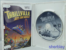 Thrillville: Off the Rails (Nintendo Wii, 2007) COMPLETE