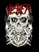 SLAYER cd lgo SKULLTAGRAM / SKULLAGRAM Official SHIRT MED new