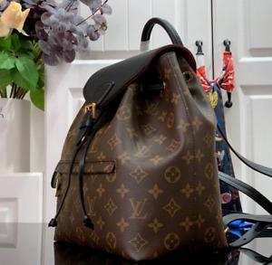 Louiis Vuitton MONTSOURIS PM Monogram Canvas Leather