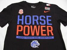BOISE STATE BRONCOS - HORSE POWER - NIKE - FIESTA BOWL - LARGE SIZE T SHIRT!