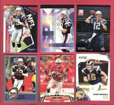 TOM BRADY JERSEY + SPX +2 & JAMES WHITE & DANNY AMENDOLA ROOKIE RC CARD PATRIOTS
