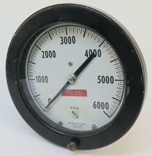 ASHCROFT Pressure Gauge 0-6000 PSI