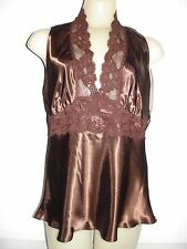 Farr West Fashions Camisole Espresso Size Medium