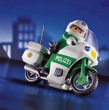 LEGO Playmobil 3983 Polizei Grün Motorradstreife Exclusive Alt set