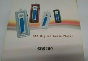 SRS Portable Digital WMA MP3 Music Player Voice Recorder Media SS