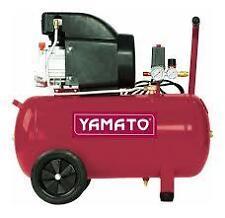 Compressore coassiale monofase Yamato 50 lt 2 hp 8 bar 92848 lubrificato olio