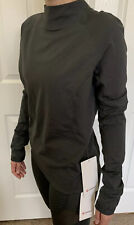 Lululemon Size 6 Quickflash Pullover Gray GGRE Swiftly Run Long Sleeve