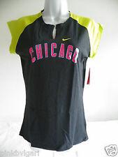 Nike Womens  MLB Chicago Cubs  Raglan Neon Baseball Shirt  Medium NWT
