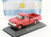 1/43 Scale FORD F-100 F100 1959 Pickup Diecast Model Has Flaw