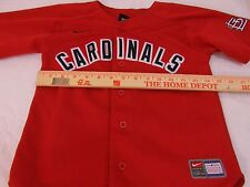 Childrens MLB Nike St. Louis Cardinals 6 Jersey & Nike Yellow White 6 Zip Jacket