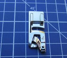 """Pied ourlet roulotté étroit 4mm """"D1 et D2"""" plat zigzag 7mm machines à coudre"""