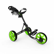 Golftrolley Clicgear 3.5+, 3-Rad, das neueste Modell, Farbe: charcoal-lime!