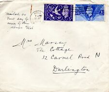 1946 Sg 491/2 Victory First Day Cover