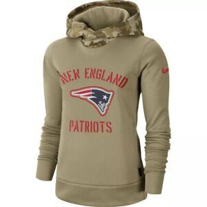 Nike New England Patriots Salute To Service Hoodie Sweatshirt Women's Large NWT