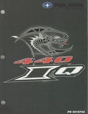 2006 POLARIS SNOWMOBILE RACING 440 IQ SERVICE MANUAL P/N 9919760 (934)