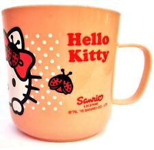 Enfants Rose Clair Hello Kitty Fantaisie PLASTIQUE Tasse F001300
